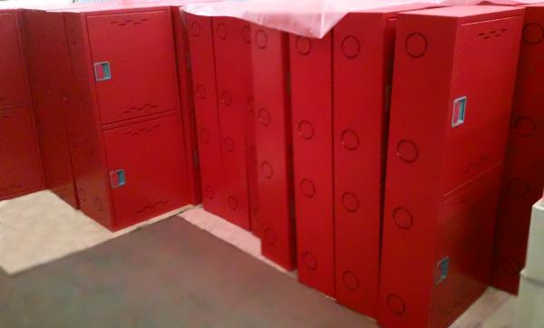 Шкафыпожарные красные