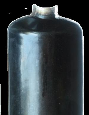 Балон огнетушителя  ОВЭ-2 в разрезе