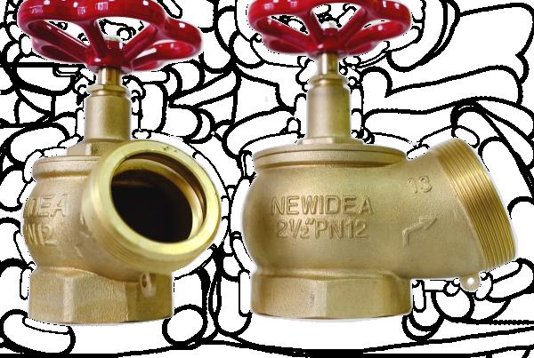 Пожарный клапан КПЛ-65