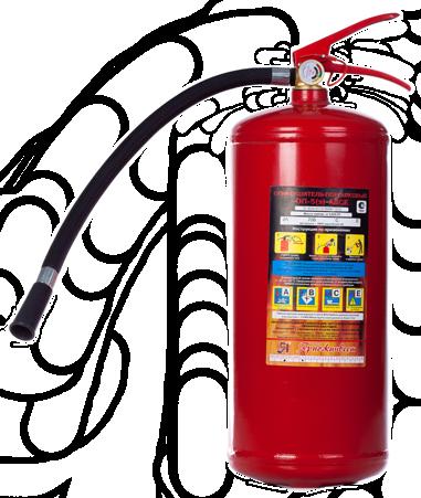 Огнетушитель порошковый ОП-5(з)-АВСЕ