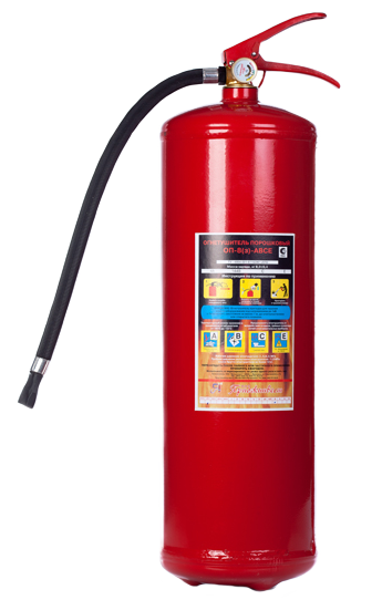 Огнетушитель порошковый ОП-8(з)-АВСЕ